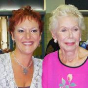 Louise Hay and Sandra Filer