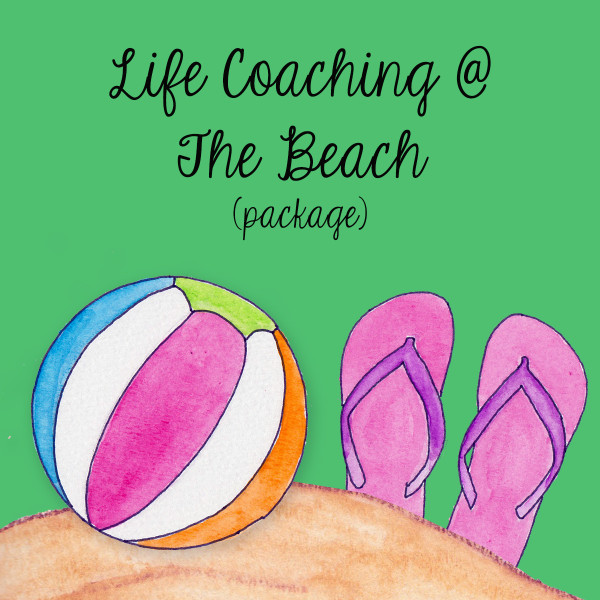 Life Coaching at the beach Package The Happy Goddess